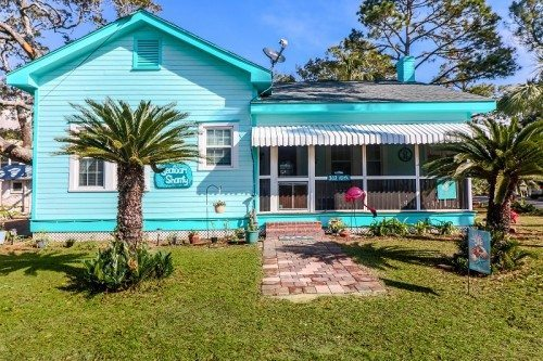 tybee island wine,rainbows an cottages