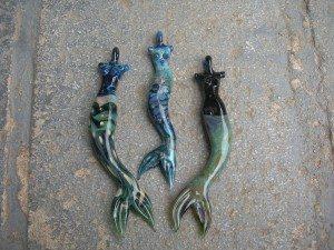 Mermaid Sightings of Deb DiMarco's Black Mermaids