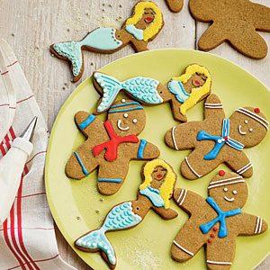 Gingerbread Mermaids and Sailors