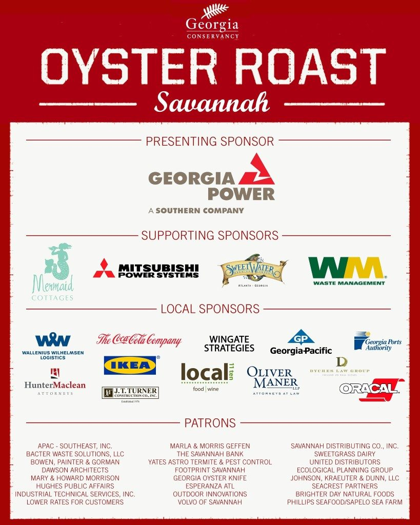 Georgia Conservancy Oyster Roast 2013