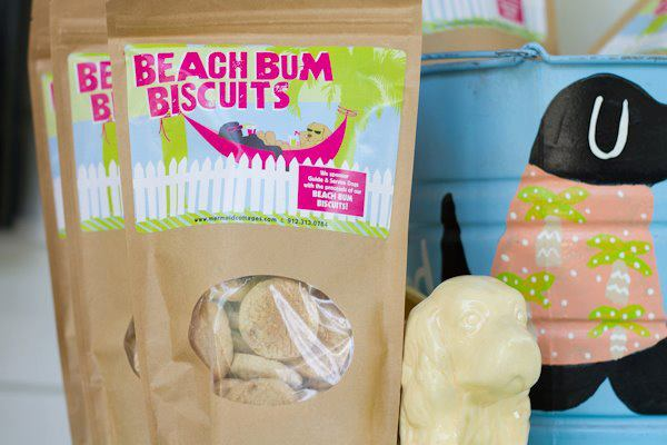 Beach Bum Biscuits Dog Treats