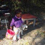 The family dog enjoys Tybee Island, too