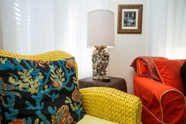 Paula Deen's Shell Art Lamps
