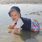 Baby in Tybee Tidal pool