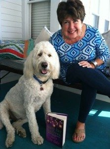 mary kay andrews and joey the shop dog