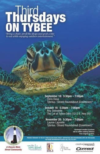 It's Tybee Island.  We're gonna need a bigger weekend.