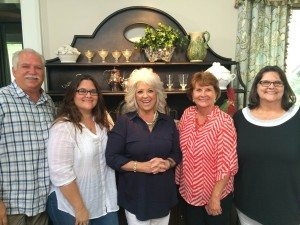 YCI Guests with Paula Deen in Savannah