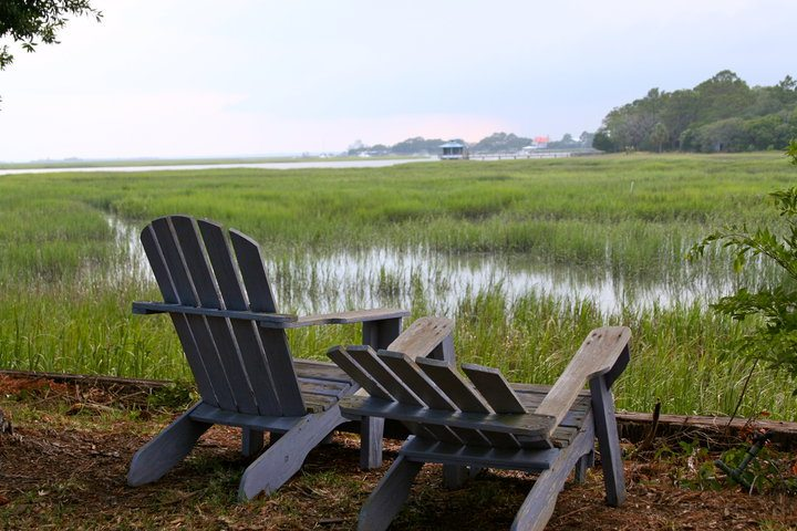 island views. It's a love thing on Tybee Island.