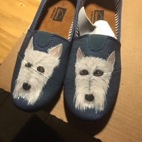 puppies on our shoes