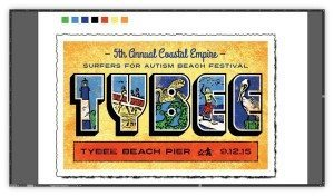 coastal empire surfers for autism beach fest