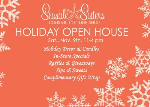 seaside sisters holiday open house