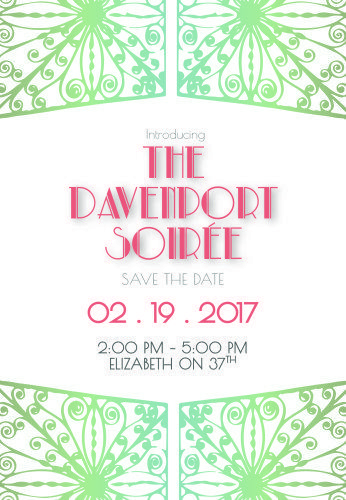 turn your tybee getaway into a davenport soiree