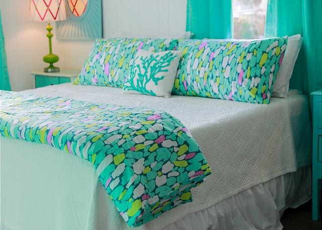 pillow talk at Coastal Joy