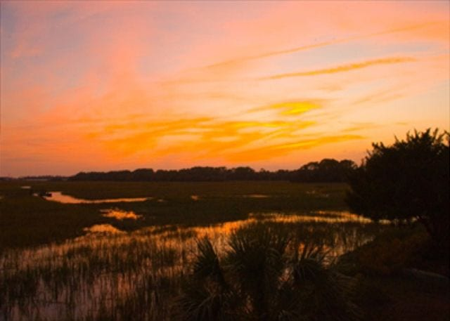marsh views are a love thing on Tybee Island