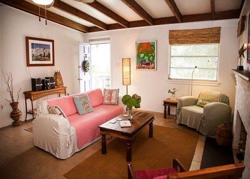 you'll love the mod furnishings here.