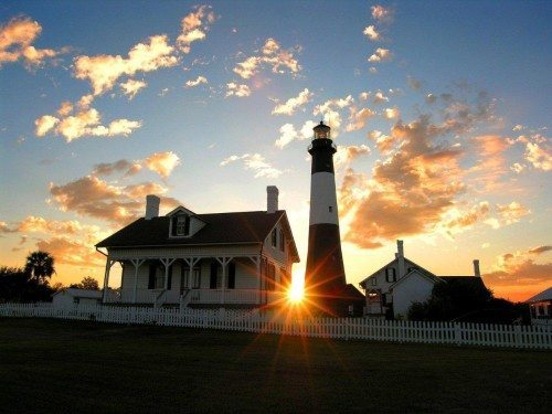 tour the lighthouse when you visit Tybee.