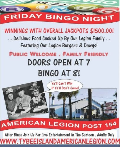 mermaid cottages says bingo is the name-o