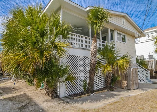 take walks on Tybee Island from Atlantic 2 Cottage