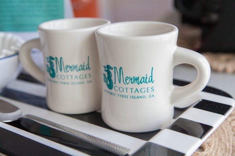 Mermaid Cottages Coffee Mugs