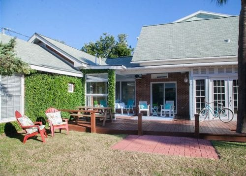 beach haven cottage, mermaid cottages, tybee island ga