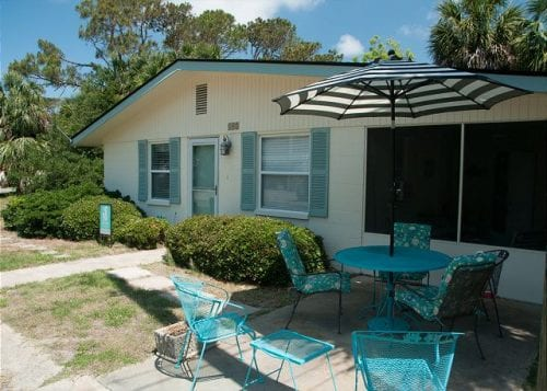Just Beachy Cottage circa 1967, Mermaid Cottages, Tybee Island GA