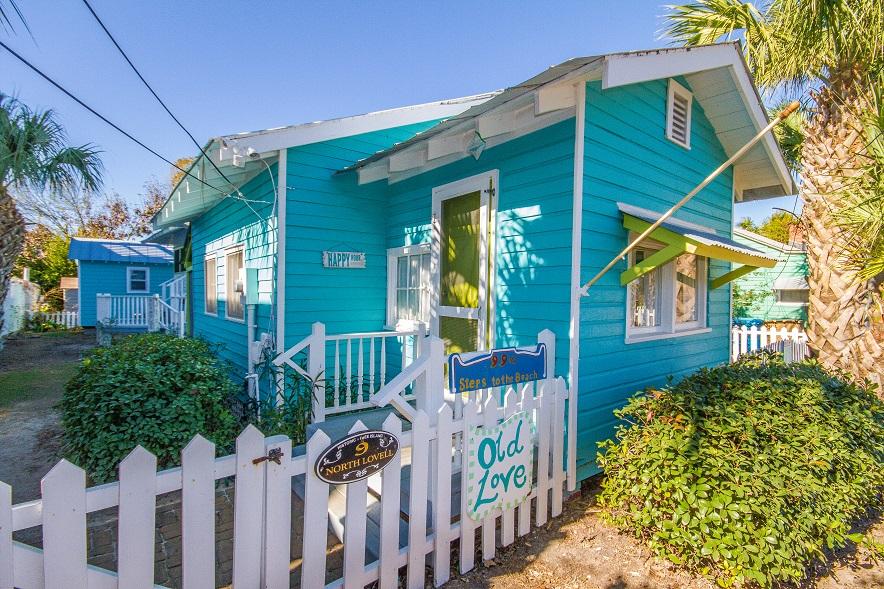 old love cottage, mermaid cottages, tybee island ga