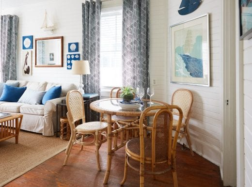 sandpiper cottage life styled beachy decor