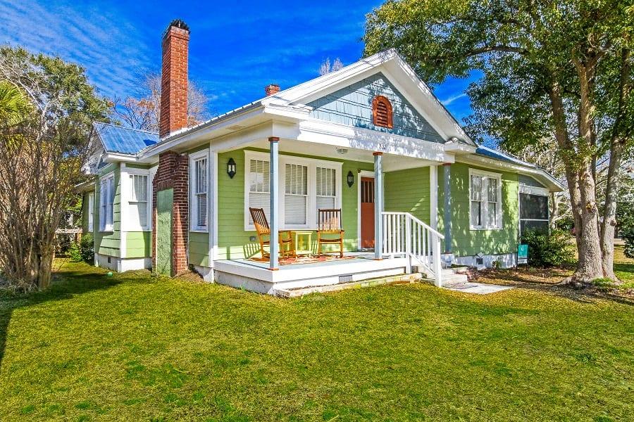 flips flop house cottage on tybee island ga