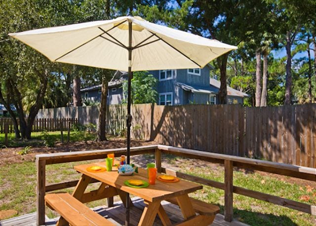 all set for a picnic at livin the dream cottage on tybee island ga