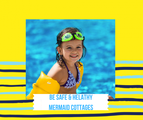 safe and healthy stay with mermaid cottages