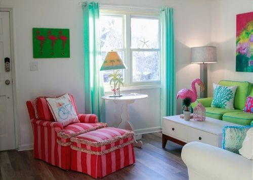 coastal joy den decor