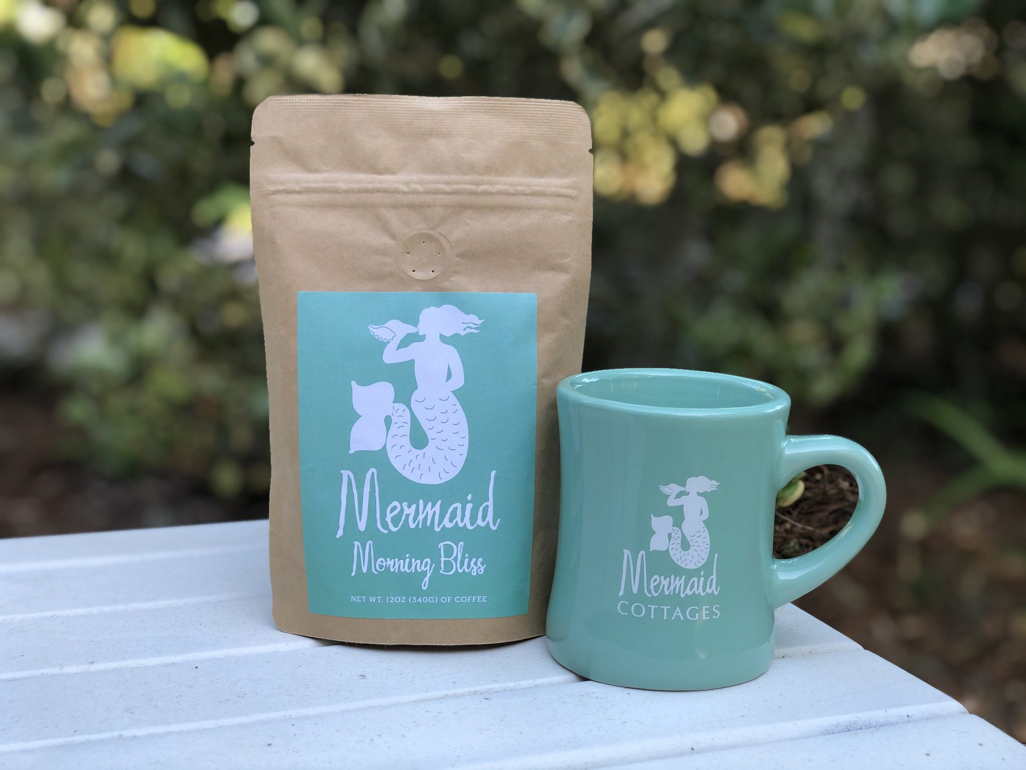 mermaid morning bliss coffee