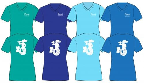 mermaid cottages tees