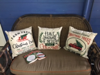 coastal country Christmas at Fish Camp Cottage