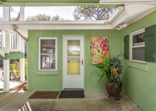 Marigold Cottage patio door