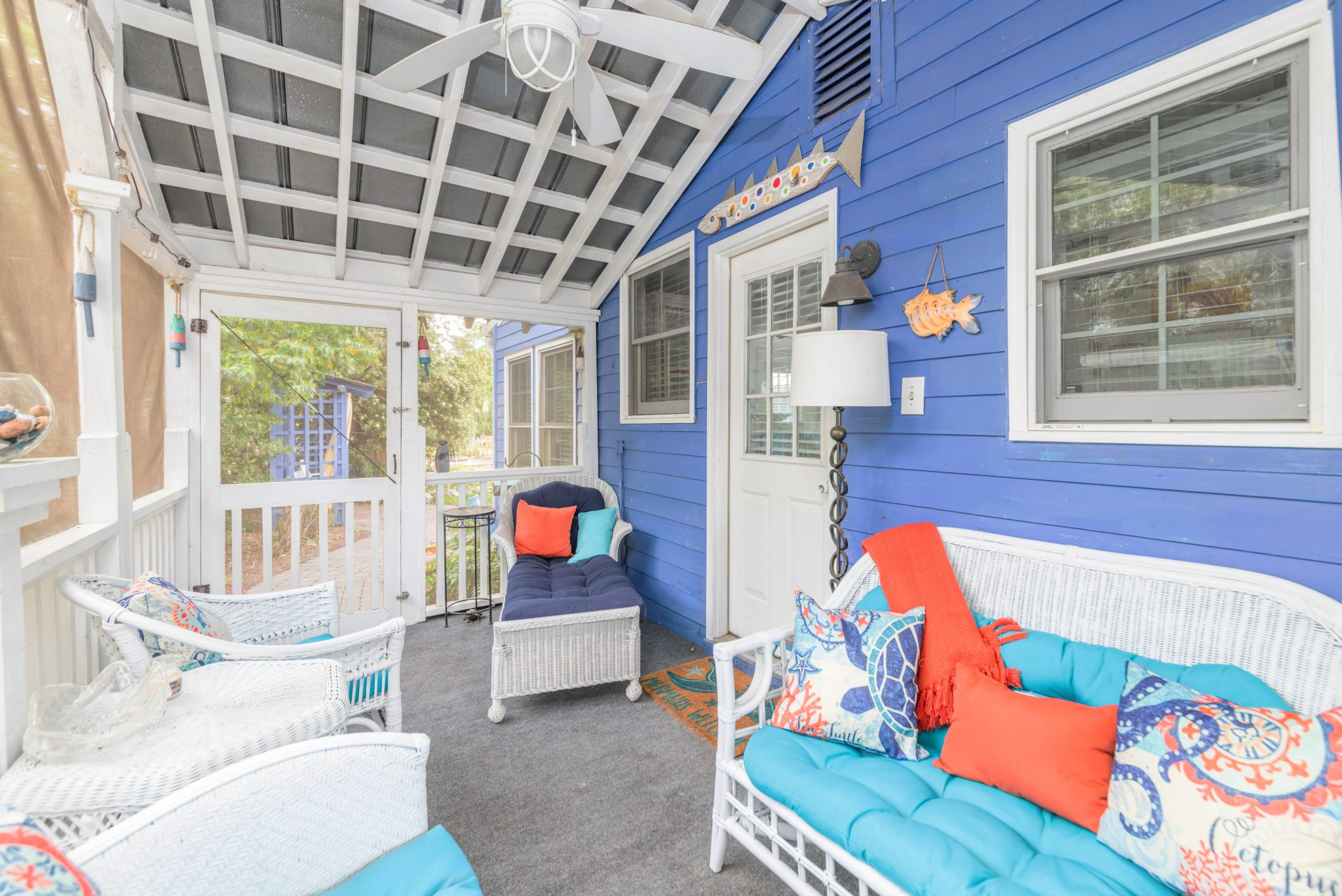 fish camp porch