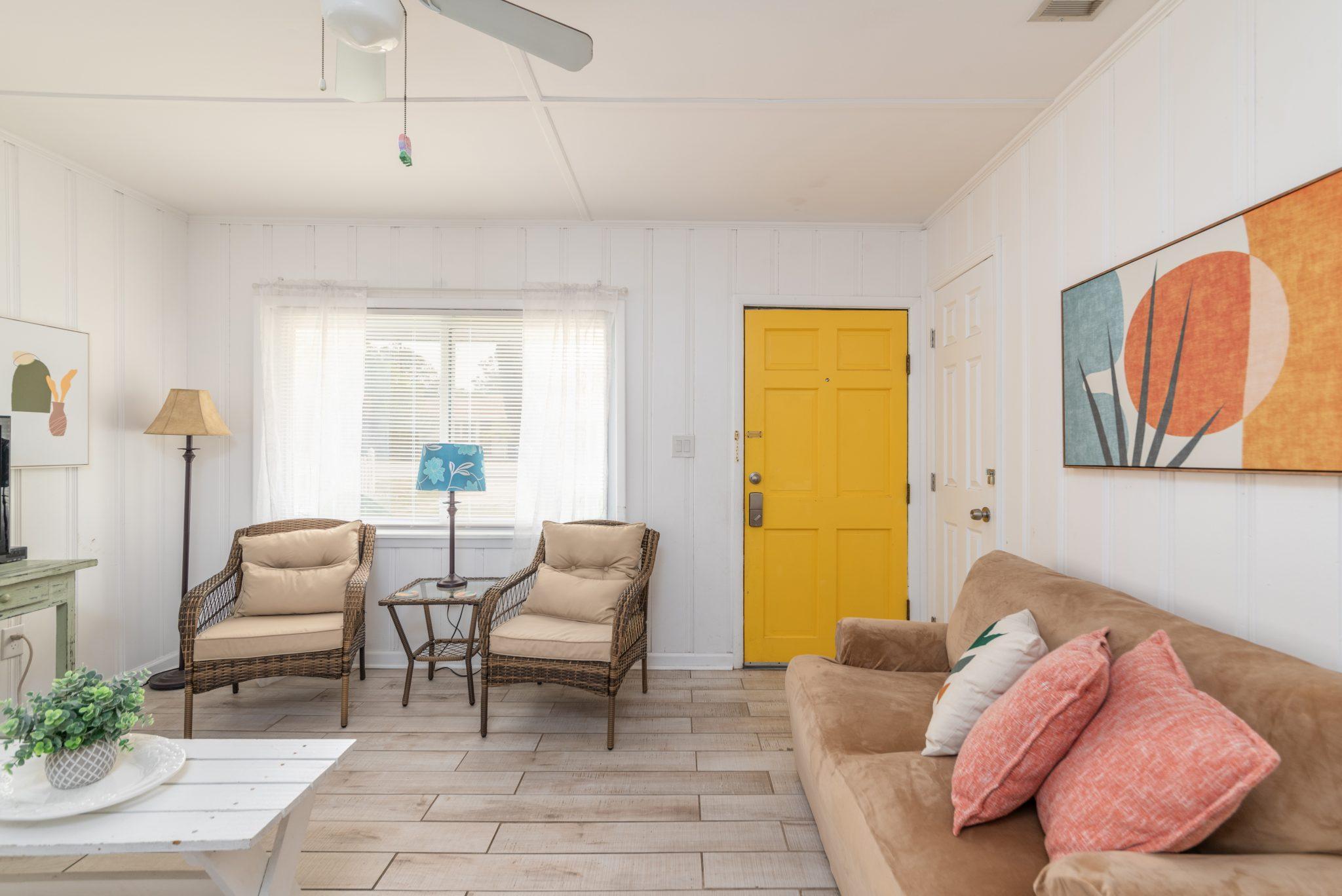 mimosa cottage interior