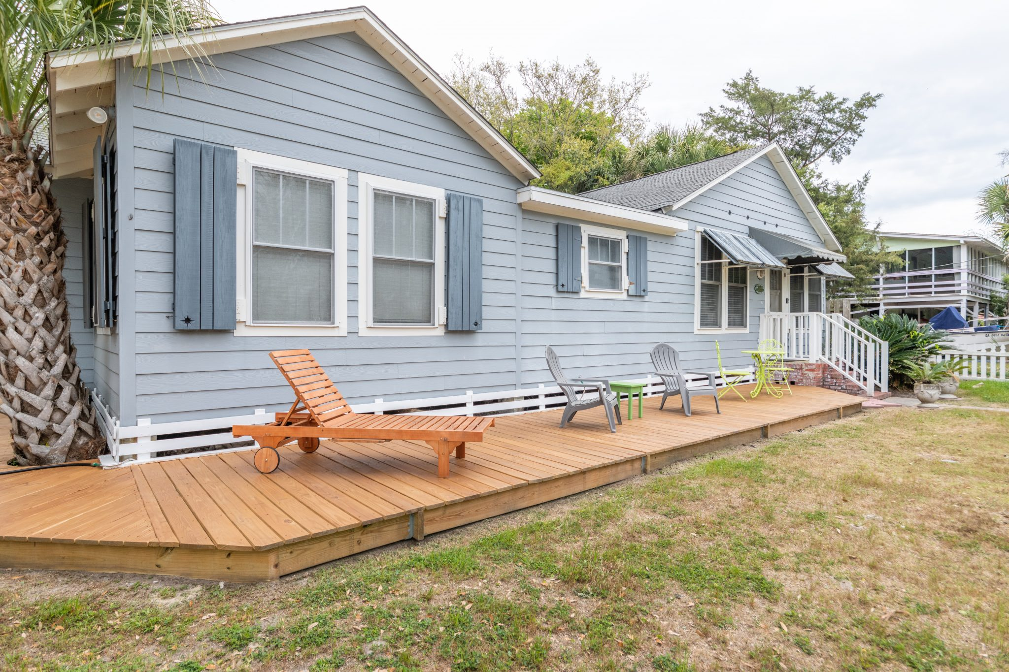 remote work and play at blue heron cottage