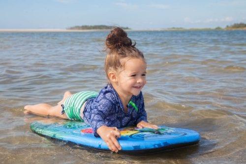 lisa ward's daughter in the tybee surf
