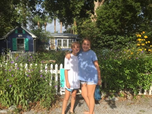 beth thrasher at fish camp cottage